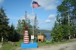 Balsam Cove Sites and flagSign 016